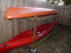 Cheap and Easy Way to Build the Best Kayak Storage Rack - Kayak Sherpa