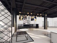DGM Architekci - Projekt: Wnętrza hotelowe ul. Geologiczna w Warszawie