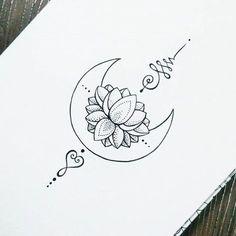 unalome lotus flower meaning Unalome Tattoo, Lotusblume Tattoo, Piercing Tattoo, Body Art Tattoos, New Tattoos, Sleeve Tattoos, Piercings, Tatoos, Script Tattoos