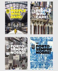 Porto / City Identity and Branding Proposal on Behance