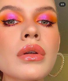 Edgy Makeup, Eye Makeup Art, Cute Makeup, Makeup Goals, Pretty Makeup, Skin Makeup, Beauty Makeup, Maquillage Indie, Maquillage Normal
