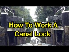 So, how exactly do you work a canal lock single handed, when out boating on your own? Just another moment of narrowboat life!