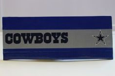 Duct Tape Wallet (Bi-Fold) - Dallas Cowboys, $15.  We are also on Etsy at:  www.junorduck.etsy.com