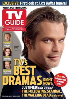 Timothy Olyphant tv guide TV's Best Dramas right NOW! Justified leads the pack