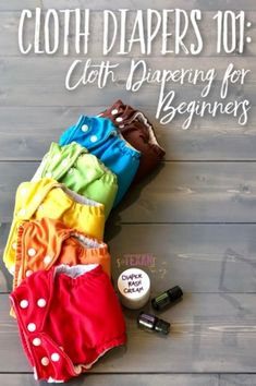 Cloth diapering for beginners can be intimidating, but with my Cloth Diapers 101 guide, I answer all the questions to help you feel confident and ready for how to cloth diaper your sweet baby!