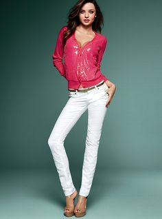 I really wanna get these white pants, but white kind-a scares me....not quite convinced I could pull it off.