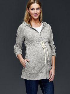 Essential zip hoodie Product Image