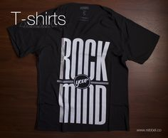 T - Shirt Rock mind Ref 004j www.rebbel.co