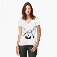 Women's Fitted V-Neck T-Shirt Kakashi epic artwork   #kakashi #anime #manga #epic #artwork #drawing #draw #linework #naruto #narutoshippuden #t-shirt #phonecases #iphone #android #womensfashion #menfashion #casualstyle #classy #cool #women #fashion  |t shirt design | t shirt | t shirt dress | t shirt cutting | t shirt diy | Dakpeon T-shirt Design | Cloth Fusion = Custom T-Shirts No Minimum | T Shirt Gifts | fun T-shirts | t-shirt crochet bag | T-shirt Redoux | hoodies | hoodies for teens |