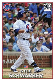 Chicago Cubs History, Kyle Schwarber, Baseball Photography, Mlb, Baseball Cards, Photos, Color, Pictures, Colour