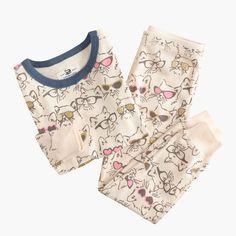 Girls' pajama set in cool cats : sleep | J.Crew