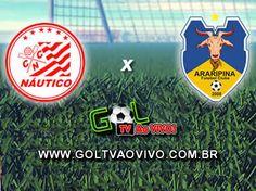 Assistir Náutico x Araripina ao vivo 19h00 Campeonato Pernambucano