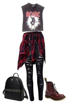 """""""#304"""" by uccelli ❤ liked on Polyvore featuring Dr. Martens, Princess Carousel, Vintage, women's clothing, women, female, woman, misses and juniors"""