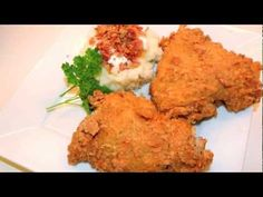 Kentucky Fried Chicken Recipe - 11 Herbs and spices I have not tried this yet. You need to have the proper deep fryer also Deep Fried Chicken Breast Recipe, Fried Chicken Coating, Recipe For Kentucky Fried Chicken, Making Fried Chicken, Crispy Fried Chicken, Fried Chicken Recipes, Recipe Chicken, Kfc Secret Recipe, Restaurant Recipes