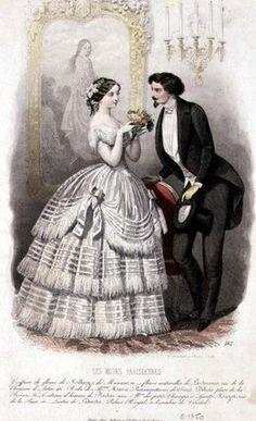 Les Modes Parisiennes, c.1850