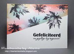 Een 4tal kaarten gemaakt met de blaadjes stempels van Het ScrapbookAtelier welke vanaf nu ook los te koop zijn. A.s. zaterdag, 17 dec van...