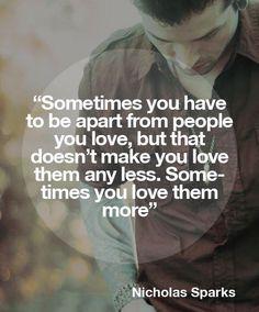 #Nicholas Sparks #love quotes