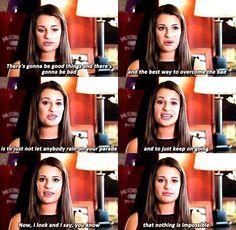 "Lea Michele - ""Advice on getting ahead at work"""