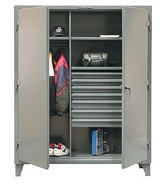 99 Opening Metal Bin Storage   Metal Bin Storage Cabinet. 99 Openings. 10  Shelves. 3 Point Locking Device Can Be Locked With A Standardu2026
