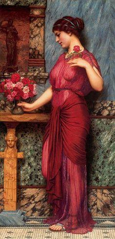 Godward-An Offering to Venus-1912 - John William Godward -