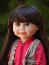 Lifelike 18inch full soft vinyl doll fashionable play doll MINT NEW CONDITION