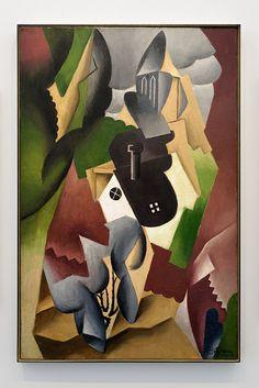 jean metzinger | Paysage cubiste-Le village (Jean Metzinger) Expo 1917 Centre Pompidou ...