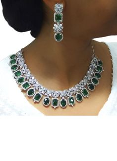 Vintage flower American Diamond and emerald necklace set woman's jewelry for Sale in Suisun City, CA - OfferUp Vintage flower American Diamond and emerald necklace set woman's jewelry Diy Jewelry Necklace, Emerald Necklace, Emerald Jewelry, Fashion Necklace, Necklace Set, Dimond Necklace, Jewellery Earrings, Circle Necklace, Stone Necklace
