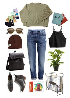 """""""Popmap #16"""" by the59thstreetbridge ❤ liked on Polyvore featuring H&M, Krochet Kids, HOT SOX, fashionset and popmap"""