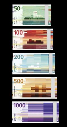 This Is The New Norwegian Currency Design