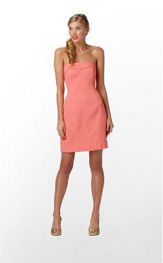 Lilly Pulitzer -Bibi dress in Ginger Orange