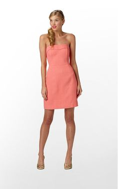 coral Lilly Pulitzer dress