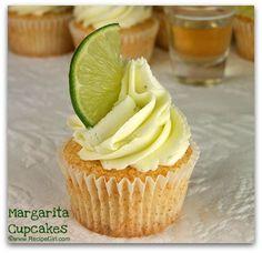 Margarita Cupcakes via One Spoiled Mama blog.