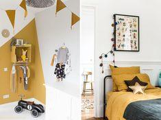 jaune moutarde deco chambre d'enfant