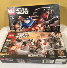 Sets are brand new in sealed boxes. See my other auctions, win more than one and I will combine shipping to save you money. Lego Sets, Lego Star Wars, Boxes, Baseball Cards, Stars, Disney, Ebay, Lego Games, Sterne