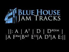 60's British Slow Blues [A] Jam Track - YouTube