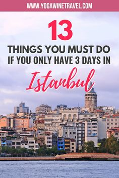 13 Things to Do If You Only Have 3 Days in Istanbul, Turkey Europe Travel Tips, Asia Travel, Travel Guides, Travel Destinations, Travel Hacks, Wanderlust Travel, Istanbul City, Istanbul Travel, Istanbul Turkey