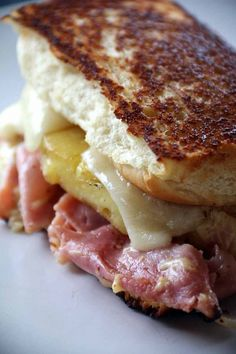 Hawaiian Grilled Cheese Recipe