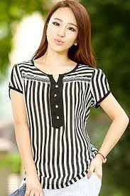 Blouses for women – Lady Dress Designs Sleeveless Cardigan, Striped Jeans, Cardigan Outfits, Look Chic, Dress Patterns, Blouse Designs, Blouses For Women, Plus Size Fashion, Fashion Dresses