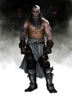 Fantasy Character Design, Character Drawing, Character Design Inspiration, Character Illustration, Character Concept, Concept Art, Character Ideas, Fantasy Races, Fantasy Warrior
