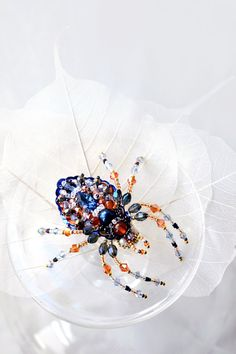 Hey, I found this really awesome Etsy listing at https://www.etsy.com/ru/listing/226726586/colorful-spider-brooch-unique