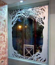 Window Painting & Murals, Dublin: Avoca Kilmacanogue Christmas Window Display