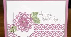 """Inspiration:  This card was the result of having a scrap flower from a previous crafting """"episode"""" (couldn't come up with a card usi..."""