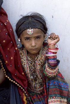 Gujarat girl, India   Steve McCurry