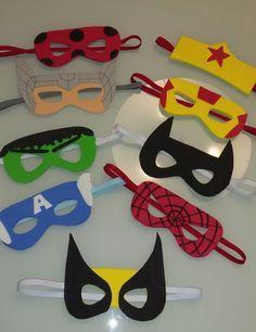 Kit máscaras heróis e heroínas Source by Gumpisy Kids Crafts, Hero Crafts, Superhero Party Favors, Super Hero Costumes, Mask For Kids, Activities For Kids, Party Supplies, Birthday Parties, Paper Crafts