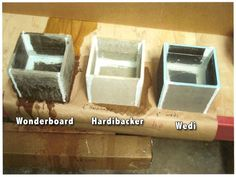 Marvelous The Difference Between Between Wonderboard, HardieBacker U0026 Wedi. The Other  Two Are Rot Resistant