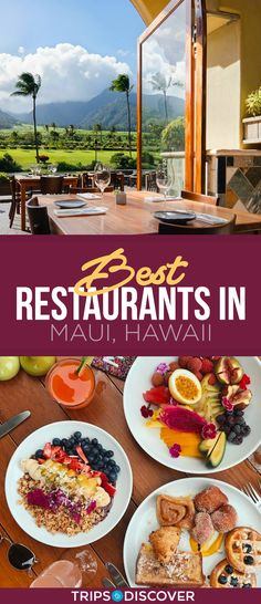 12 Best Restaurants in Maui, Hawaii - Foodie Travels - Kaanapali Maui, Lahaina Maui, Kapalua Hawaii, Hawaii Hawaii, Visit Hawaii, Hawaii Honeymoon, Hawaii Vacation, Hotels In Maui Hawaii, Hawaii Resorts
