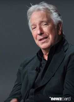 "June 19, 2015 - Actor Alan Rickman speaks about his film ""A Little Chaos"" - during the AOL Build Speaker Series Presents: Alan Rickman at AOL Studios In New York City."
