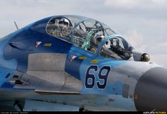 High quality photo of Ukraine - Air Force Sukhoi Su-27UB by Wojtek Zaremba. Visit Airplane-Pictures.net for creative aviation photography.
