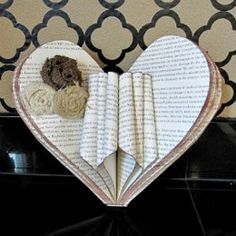 50+ old book page crafts ideas