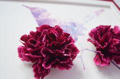 Obrazy - Vták na konári/3D obraz/kvetinové umenie - 7167231_